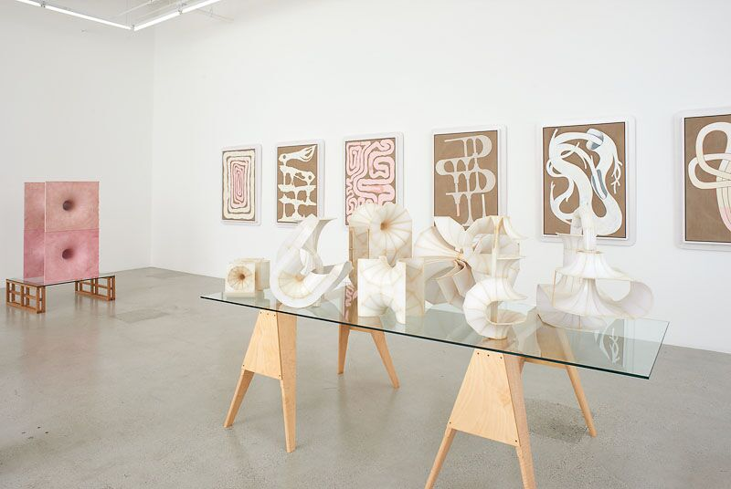 Julian Hoeber, The Inward Turn, installation view. Courtesy of the artist and Jessica Silverman Gallery.