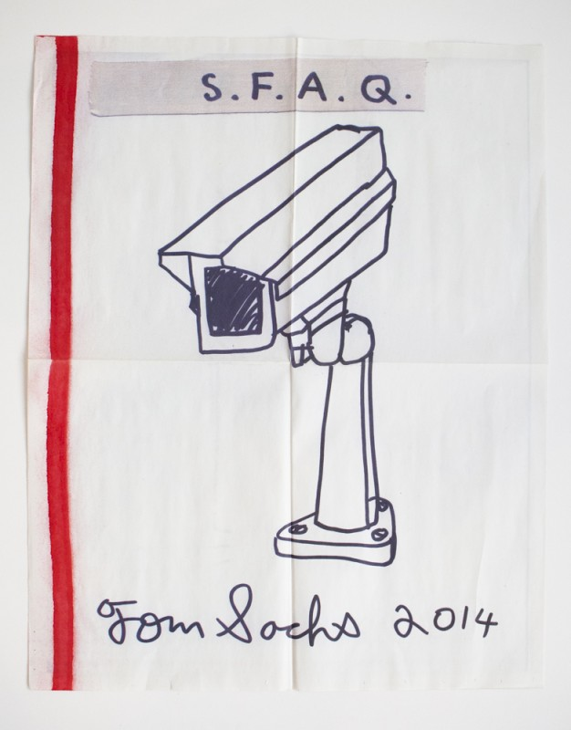 Tom Sachs for SFAQ Projects