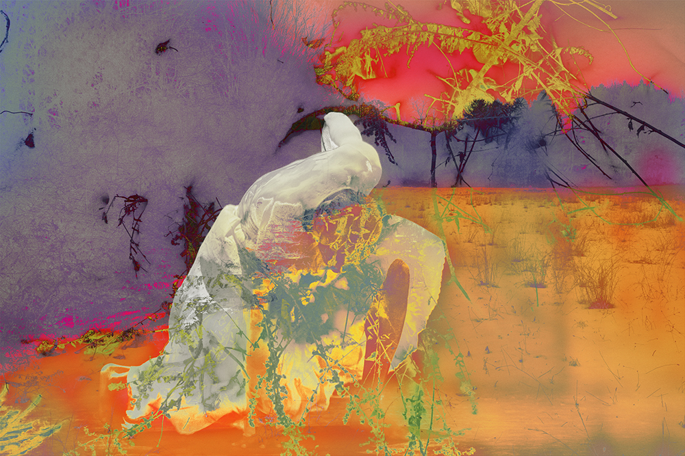 James Welling, 4222, 2015. Inkjet print, 42 x 63 inches (106.7 x 160 cm). Courtesy of David Zwiner