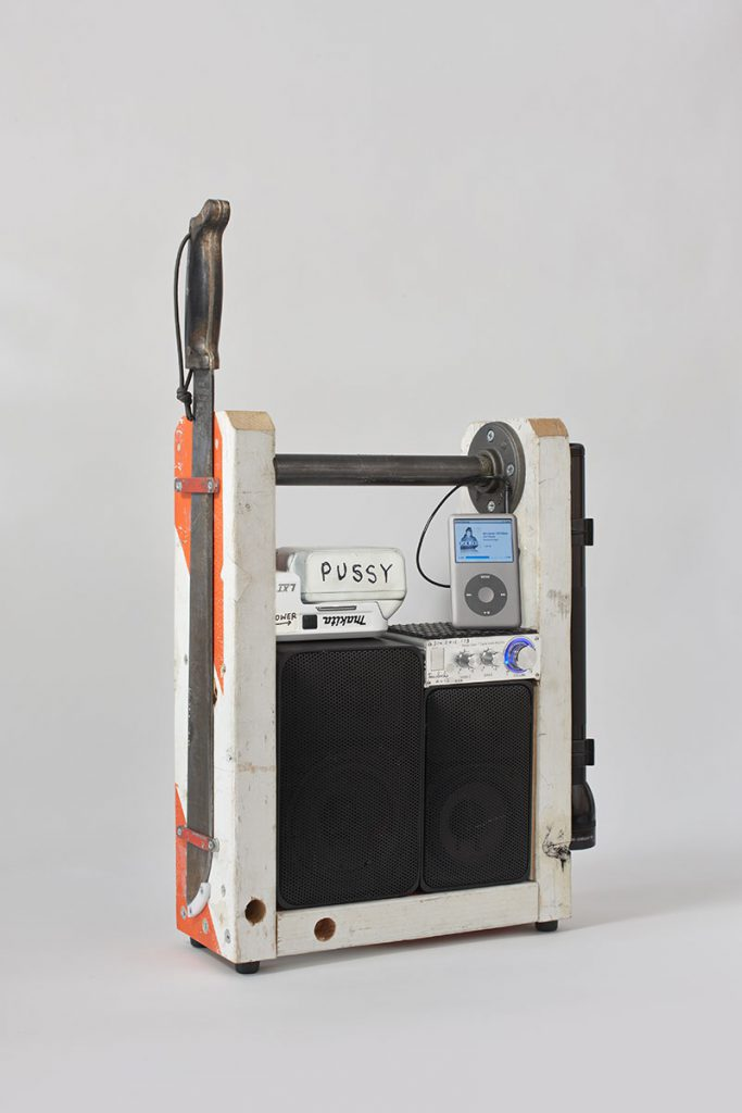 Tom Sachs, Model Thirty One, 2012 mixed media 17.75 H x 13.25 W x 5 D inches