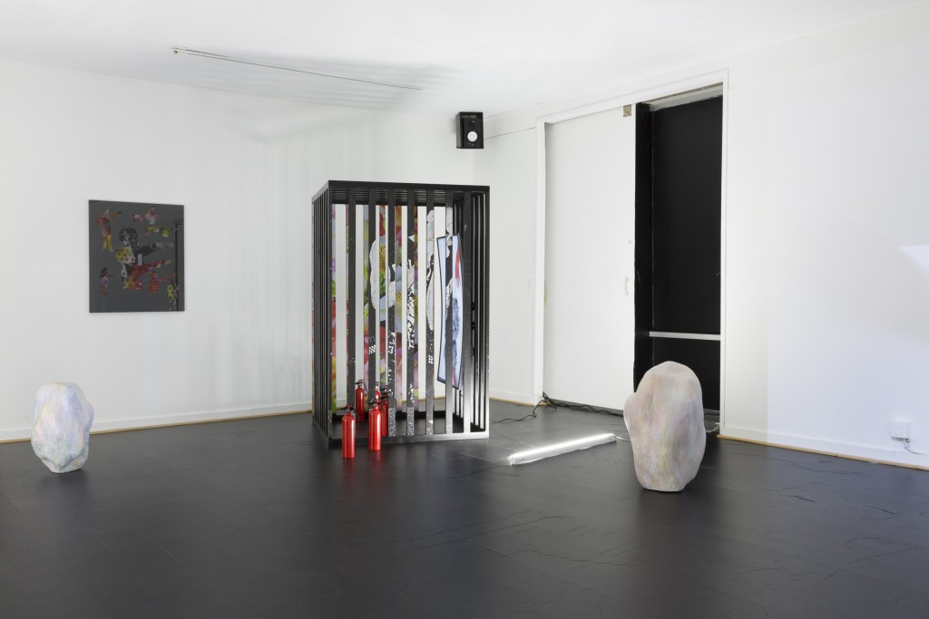 James Cordas and Rhonda Holberton, Cold Storage, 2015. Installation view. Image courtesy of the artists and City Limits. Photo: Kristine Eudy