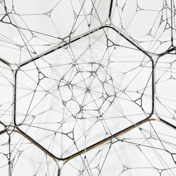 Tomás Saraceno, One Module Cloud with Interior Net, 2015. Courtesy of Tanya Bonakdar Gallery and Art Basel Miami Beach.