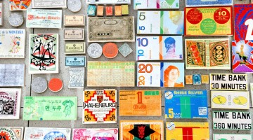 Alternative currencies. Collection of Livia Lima. Courtesy of the artist.