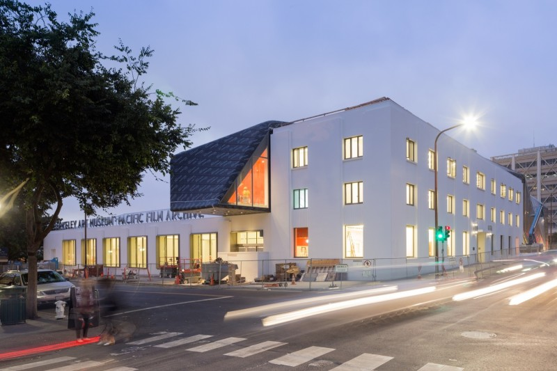 The new BAMPFA at 2155 Center Street. Courtesy of Iwan Baan, Diller Scofidio + Renfro, and BAMPFA.