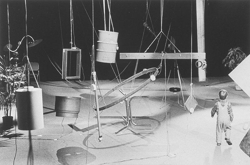 Installation of Rainforest IV (1973), L'Espace Pierre Cardin, Paris,1976, gelatin silver print. Photograph by Ralph Jones (American, b. 1951). Courtesy of The J. Paul Getty Trust