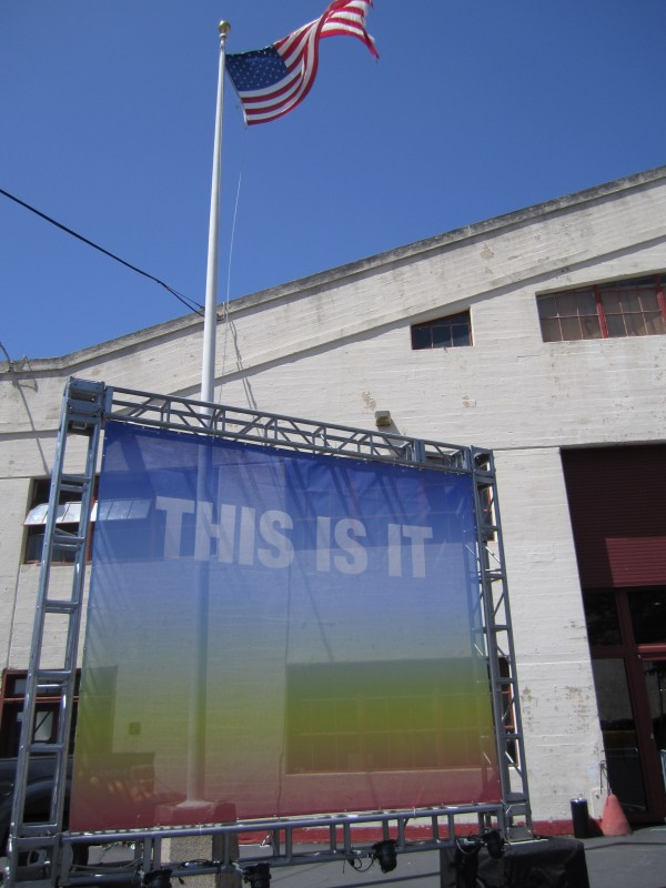 Susan O'Malley, This is It, installation at SF artMRKT fair, 2014. photo: LLutz.