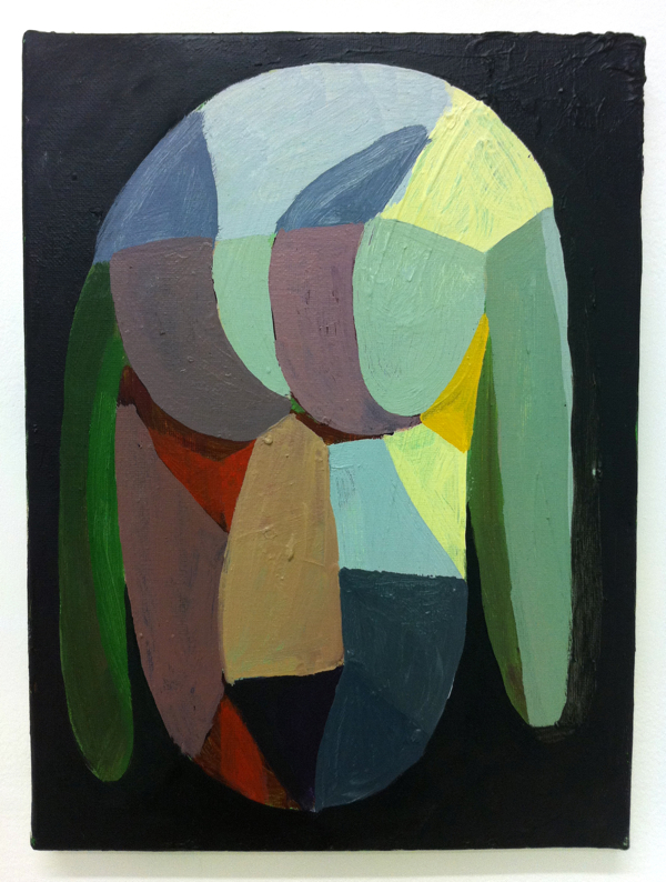 Sebastian Black, Untitled, 2010. 12 x 9 inches. Oil on canvas.