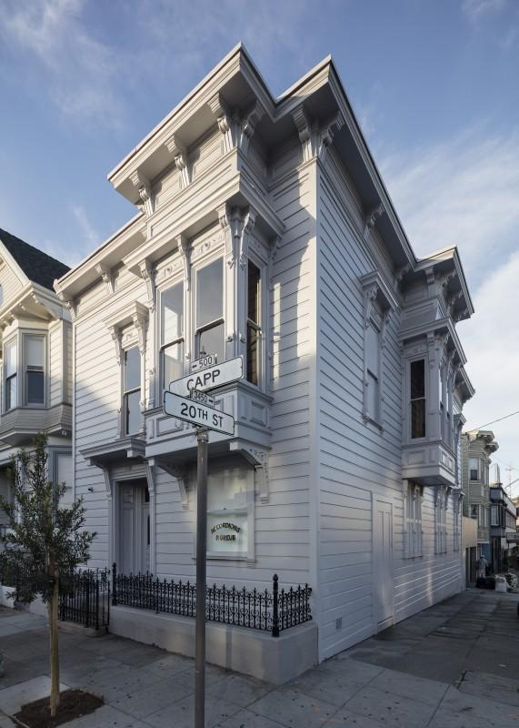 David Ireland House (exterior view), 2015; photo: Henrik Kam, courtesy 500 Capp Street Foundation