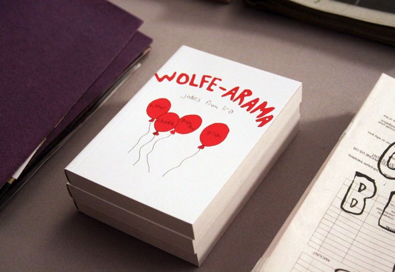Wolfe-Arama, image via Blonde Art Books https://blondeartbooks.com/2014/09/26/preview-live-from-the-ny-art-book-fair/