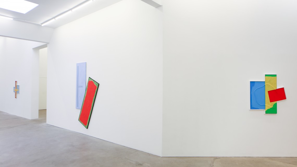 Noam Rappaport, Dogleg, 2016. Installation View, Ratio 3, San Francisco