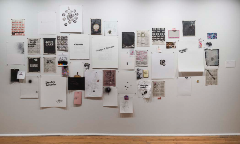 Installation view, Everything, Everyday: Artists in Residence 2014–15 at the Studio Museum in Harlem, 2015. Courtesy of the artist and the Studio Museum in Harlem. Installation view, Superfecta at Charlie James Gallery, Los Angeles, 2016. Courtesy of the artist and Charlie James Gallery.