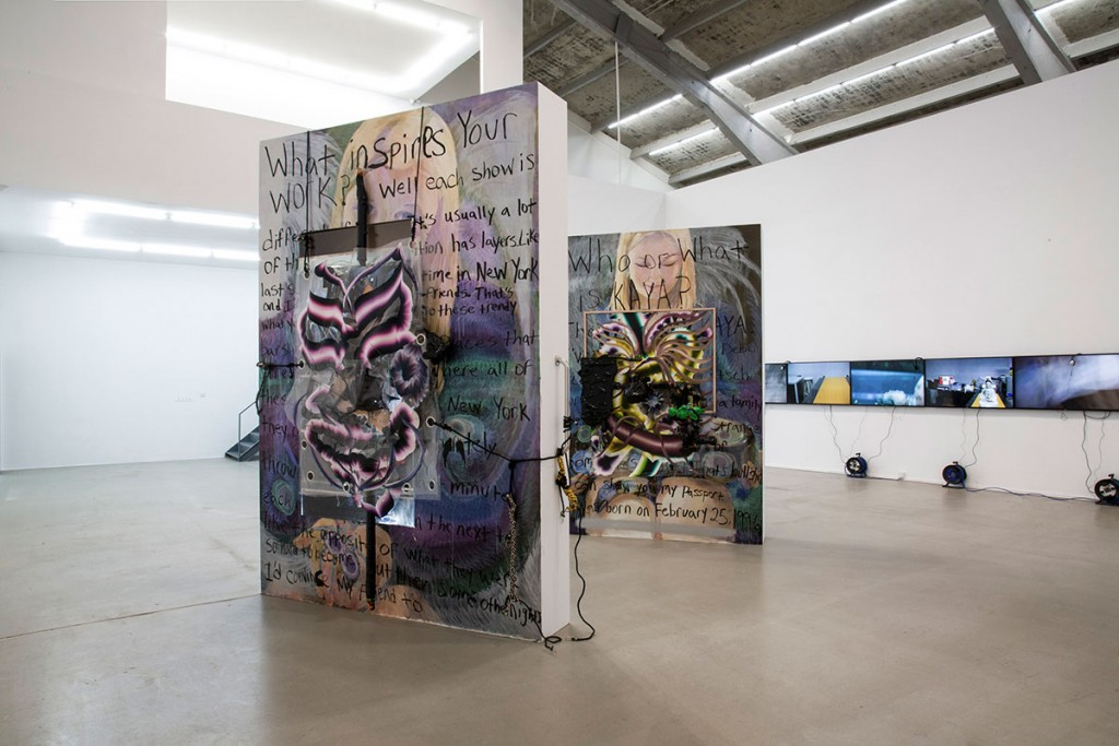 Installation view, Full of Peril and Weirdness: Painting as a Universalism at M WOODS, Beijing, 2015-16. Courtesy of M WOODS.