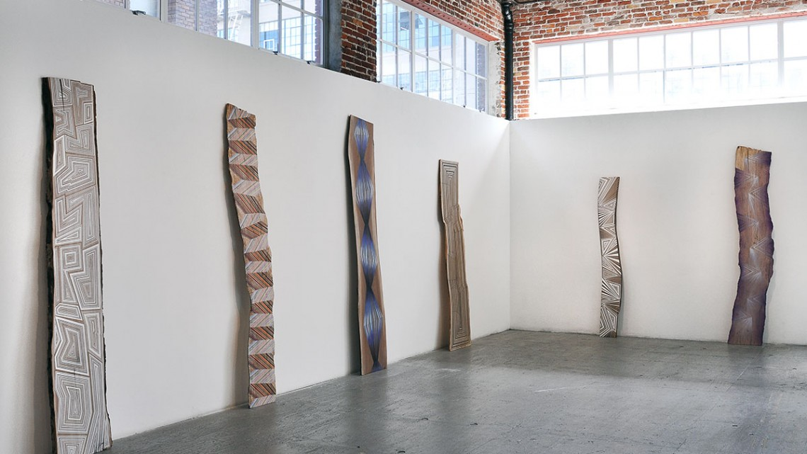 The Small Spaces in Between, Jason Middlebrook at Gallery 16, San Francisco, 2016. Courtesy of Gallery 16.