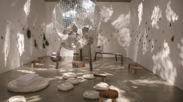Michael Parker, Steam Work, installation view, 2016.Photo by Raheleh Zomorodinia, courtesy of Southern Exposure.