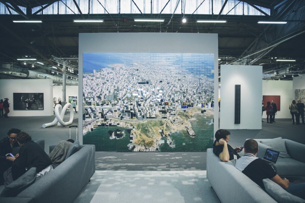 Image courtesy of Roberto Chamorro for The Armory Show.