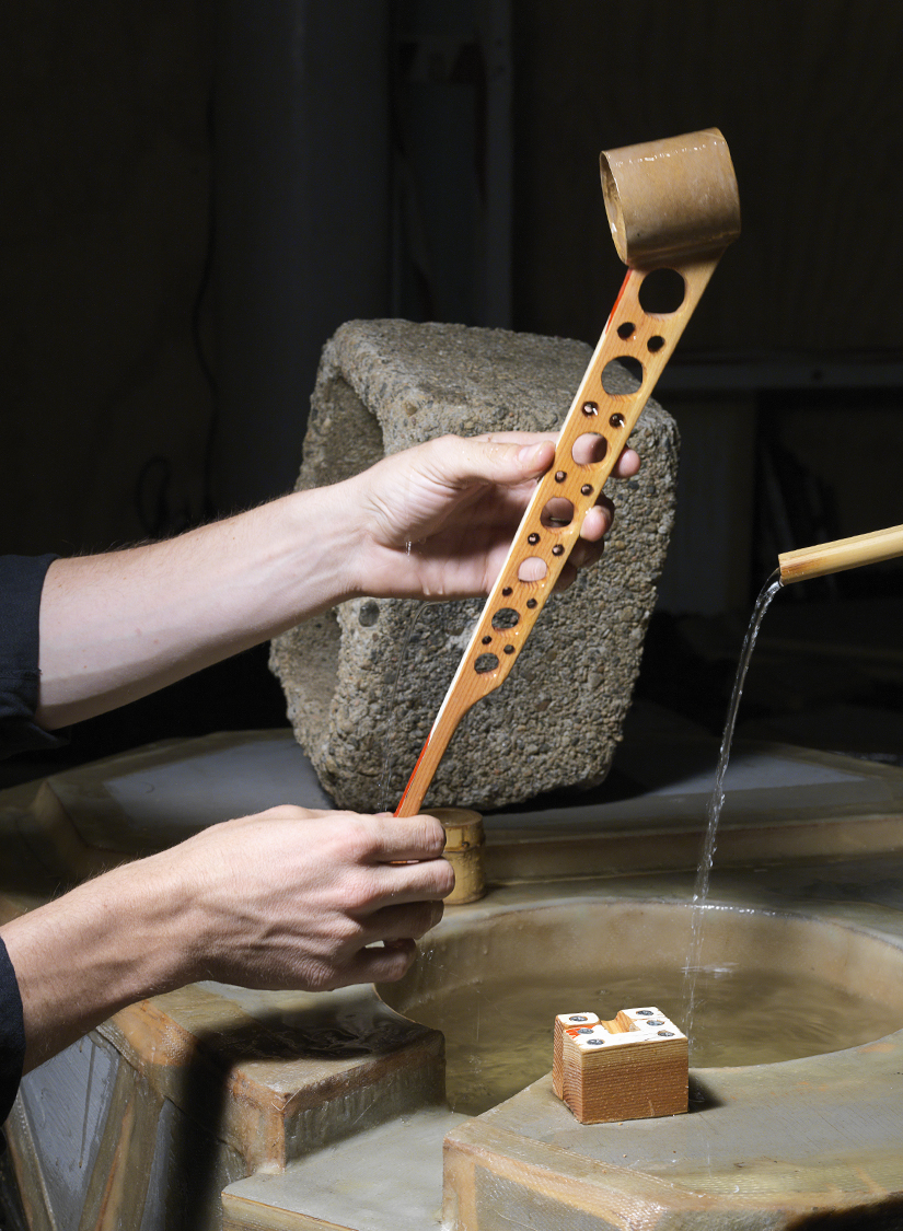 Hishaku (Ladle), 2014. 15.5 H x 2.5 W x 2.5 D inches. Courtesy of the Noguchi Museum.