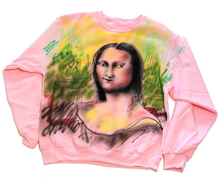 Kate Klingbeil, Mona Lisa, 2015. Courtesy of Royal NoneSuch Gallery.