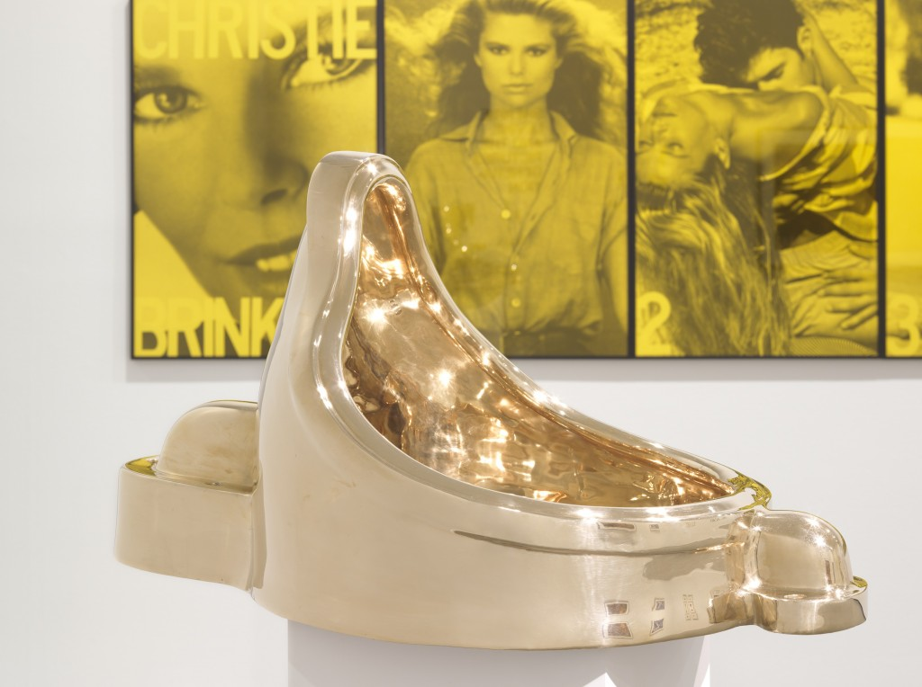 Sherrie Levine, Fountain (After Marcel Duchamp), 1991, and Vikky Alexander, Obsession, 1983. Courtesy of the Vancouver Art Gallery