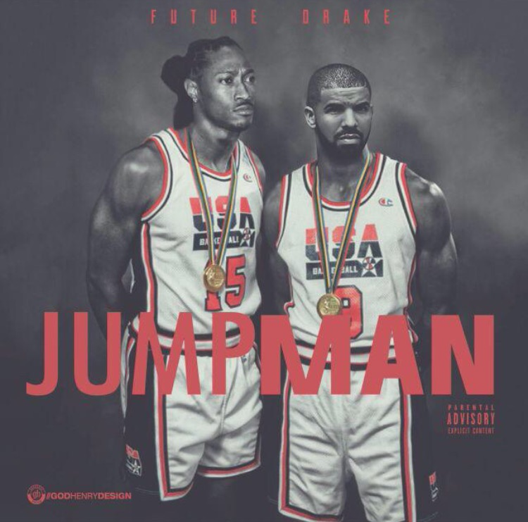 Future and Drake, Jumpman, single cover. 2015. Courtesy of the Internet.