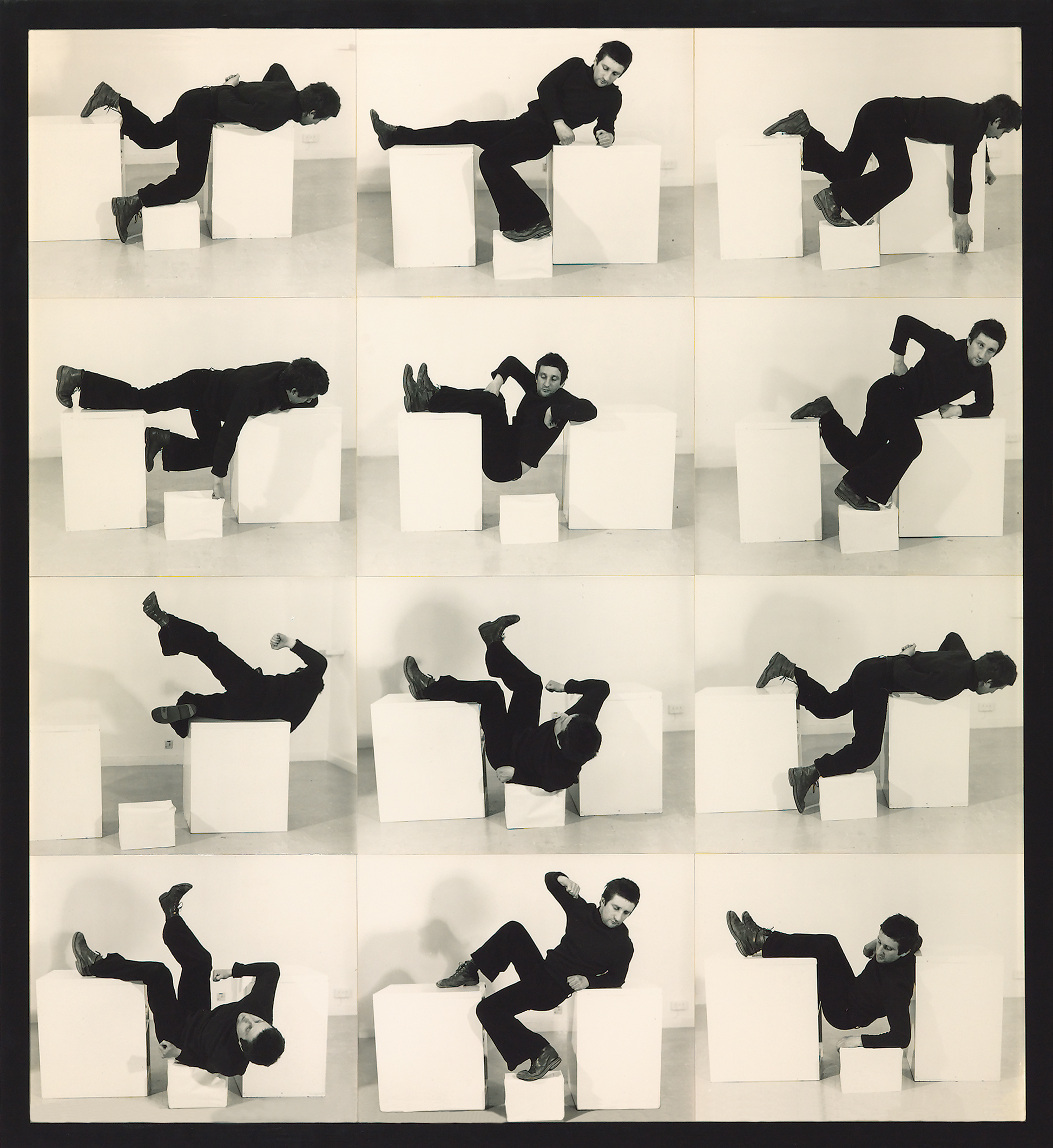 Bruce McLean, Pose Work for Plinths 3, 1971. Collection of Tate. Purchased 1981. © Bruce McLean. Courtesy of Tanya Leighton Gallery (Berlin) and Tate Britain.