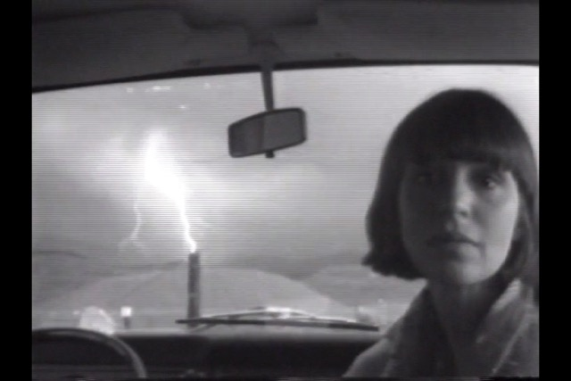 Paul Kos, Lightning, 1976. Black and white, 1 minute 23 seconds. Courtesy of ZERO..., Milan.