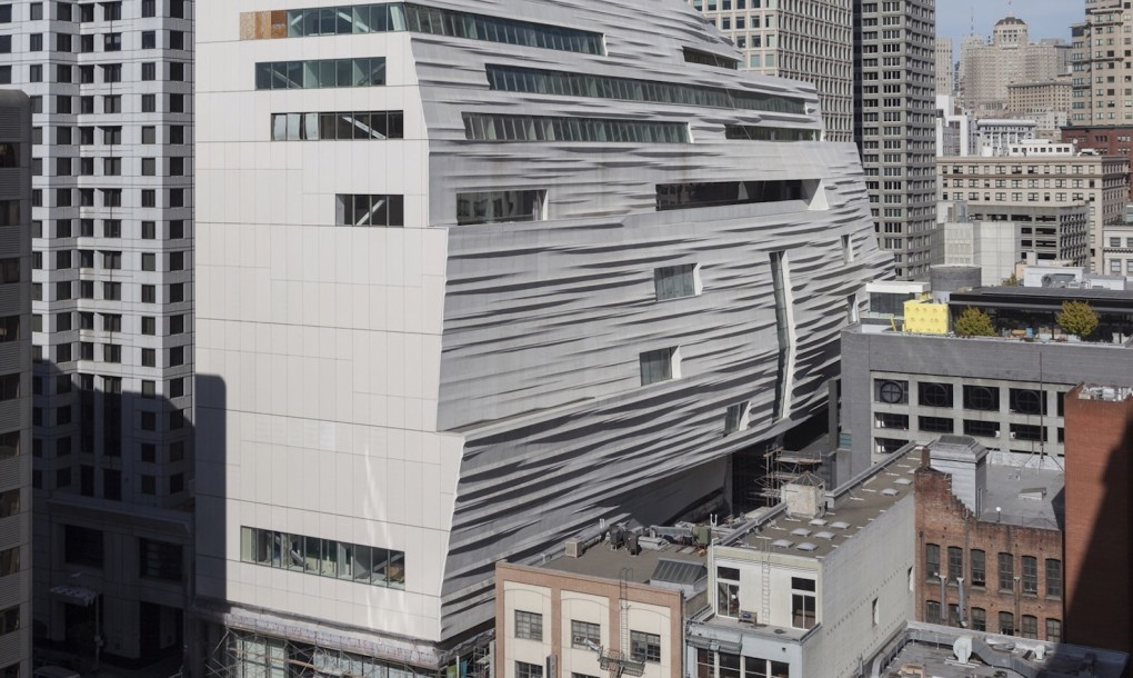 SFMOMA expansion designed by Snøhetta opening May 2016. Courtesy of the Internet.