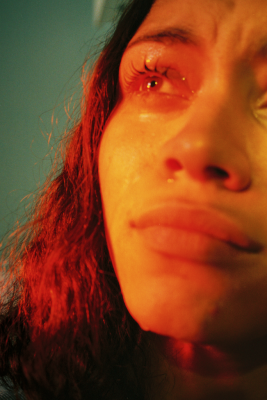 Petra Collins, So Sad Today Series, 2014-16. Digital C print. 65 x 43 inches. Edition of 2.