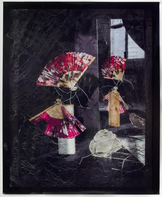 Willa Nasatir, Untitled (Fans), 2016. Courtesy of Chapter NY.