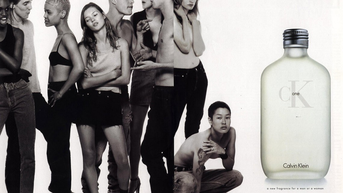 Steven Meisel, CK One campaign, 1994. Courtesy of the Internet.