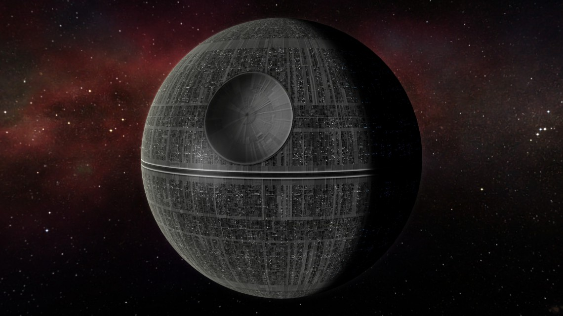 The Death Star. Courtesy of the Internet.