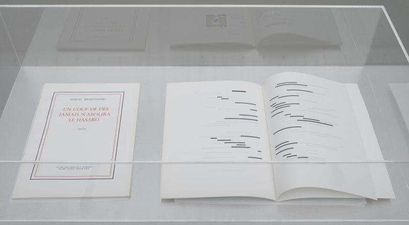 Marcel Broodthaers, Un coup de dés jamais n'abolira le hasard, 1969 Original edition on transparent mechanographic paper Wide White Space Gallery, Antwerpen Galerie Michael Werner, Köln © Estate Marcel Broodthaers