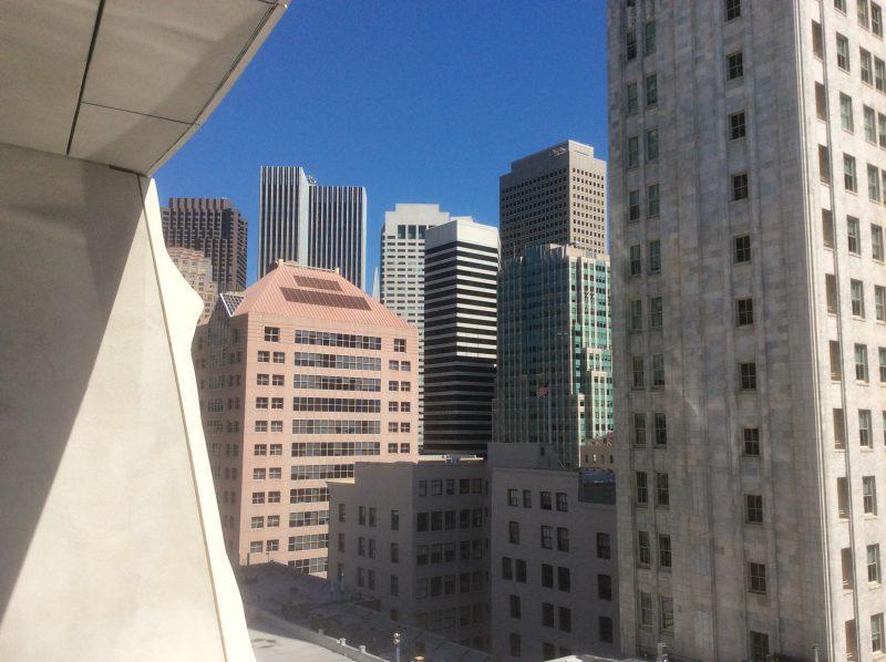 View from SFMOMA terrace (Photo: John Held, Jr.)