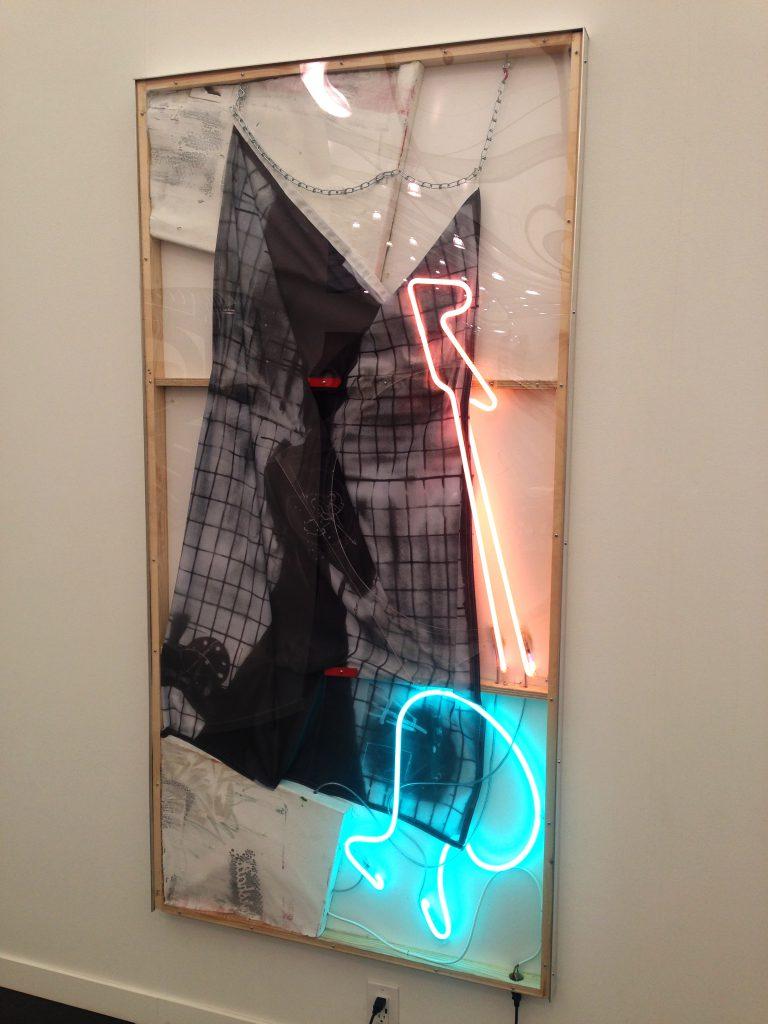 Joris Van De Morrtel, Iron man, pink man, guitar man, 2016. Galerie Nathalie Obadia (Paris, Brussels)