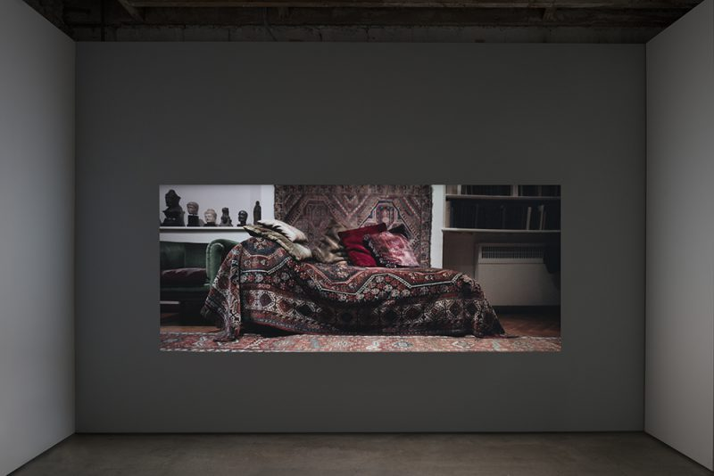 "Fetish,exhibition view, ""Amie Siegel: The Spear in the Stone"", Simon Preston Gallery, New York. Photo: Miguel de Guzman"