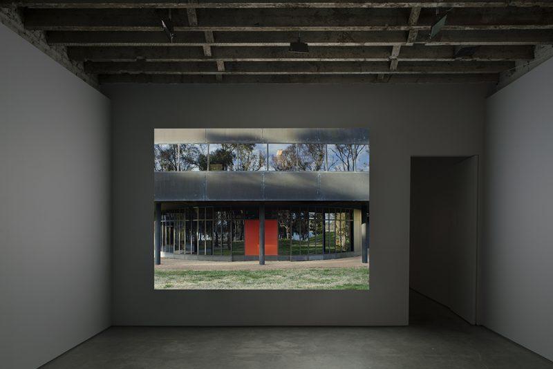 Double Negative exhibition view, Amie Siegel: The Spear in the Stone, Simon Preston Gallery, New York. Photo: Miguel de Guzman