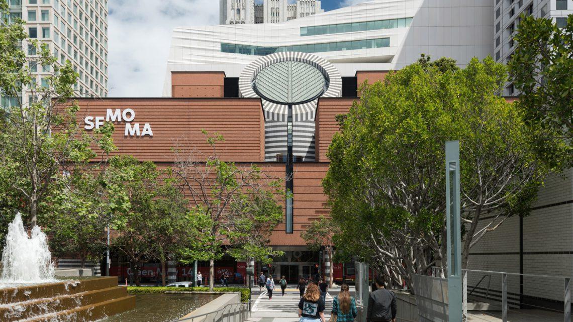The new SFMOMA, view from Yerba Buena Gardens (photo: Jon McNeal, © Snøhetta)