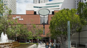 The new SFMOMA, view from Yerba Buena Gardens (photo: Jon McNeal, © Snøhetta)