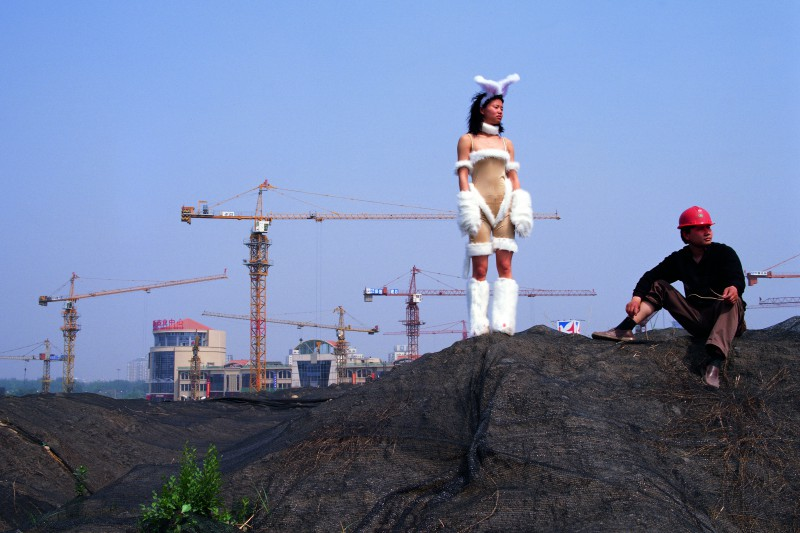 Cao Fei, Un-Cosplayer Series: Bunny's World, 2004. C-print, 90×120 cm Courtesy of artist and Vitamin Creative Space