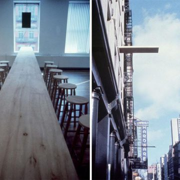 Vito Acconci, Where We Are Now (Who Are We Anyway?), 1976. Photo by Vito Acconci. Courtesy of the artist and MoMA PS1.