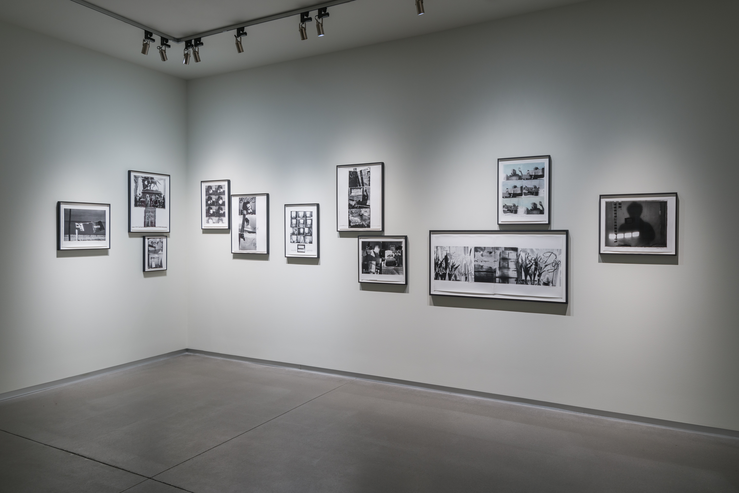 Installation View, photography from the Bluff Collection on view in Collected at Pier 24 Photography, San Francisco, 2016. Courtesy of Pier 24 Photography.
