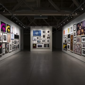 Installation view, photography from the collection of Nion McEvoy on view in Collected at Pier 24 Photography, San Francisco, 2016. Courtesy of Pier 24 Photography.