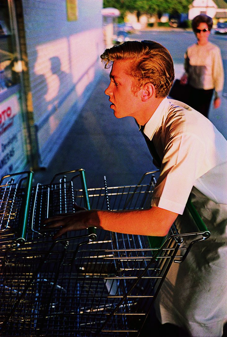William Eggleston, Untitled, from the portfolio Los Alamos, 1965-74. © William Eggleston Artistic Trust.  Courtesy of ROSEGALLERY (Santa Monica) and Pier 24 Photography.