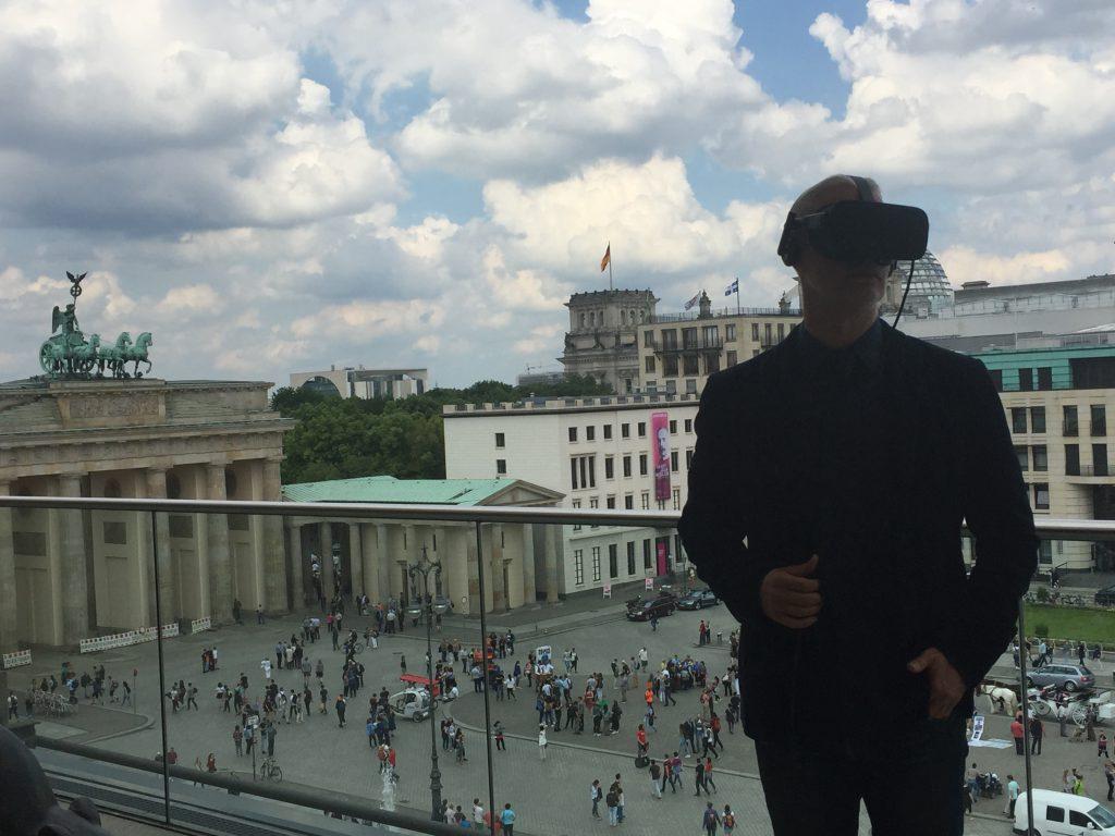 """Akademie der Künste, Jon Rafman """"View of Pariser Platz"""", 2016"""