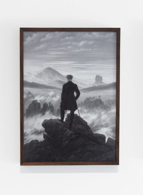 Ivan Iannoli. Untitled (Friedrich), 2016. Digital c-print, edition of 5, 14 x 10 inches. Courtesy of the artist and Bass & Reiner Gallery, San Francisco.