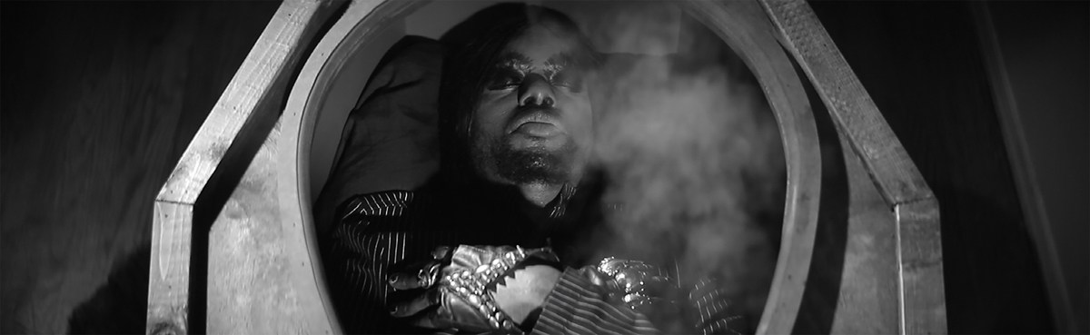 M. Lamar, Deathlessness (Awaiting an Awakening), Still from Funeral Doom Spiritual, 2016. Digital video. Courtesy of the artist