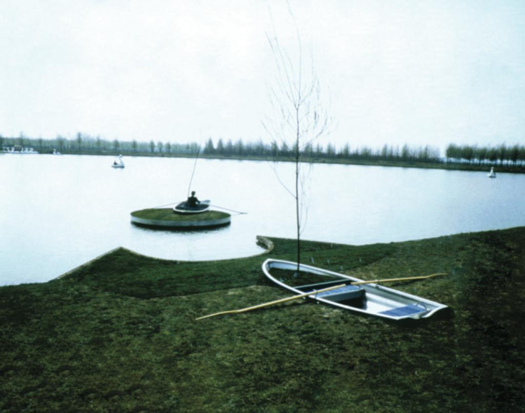 Personal Island, Floriade, Zoetemeer (temporary), 1992. Acconci Studio (V.A., Luis Vera, Jenny Schrider).