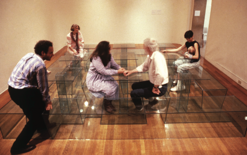 Maze Table, 1985. Courtesy of the artist.