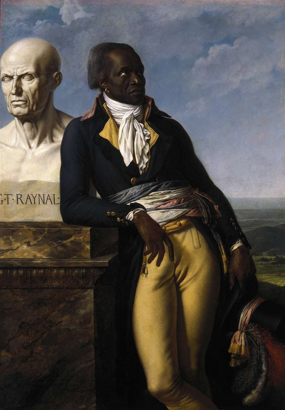 Anne-Louis Girodet Trioson, Jean-Baptiste Belley, député de Saint-Domingue à la Convention, 1797. Oil on canvas, 158 x 111 centimeters. Collection of the Château de Versailles. Courtesy of the Internet.