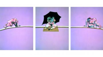 Francis Bacon, Triptych - Studies of the Human Body, 1970. Oil on canvas, 198 x 147,5 cm (each panel) Private Collection, Courtesy Ordovas © The Estate of Francis Bacon. All rights reserved, DACS 2016. Photo : Prudence Cuming Associates Ltd