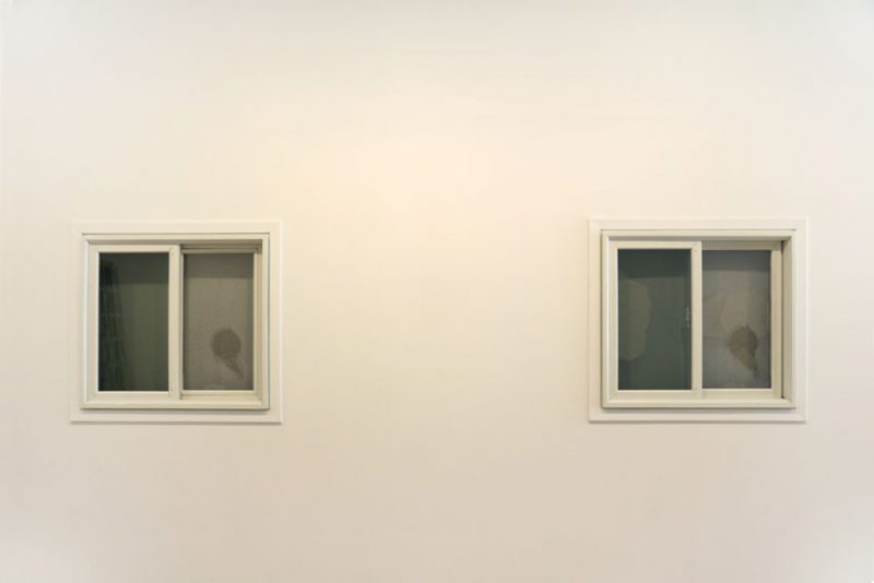 Tavares Strachan, Broken Windows (Dislocated Remnants), Installation view at Pierogi, 2016.